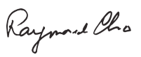 Raymond Cho Signature